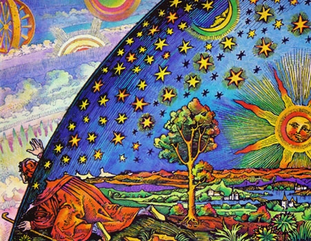 flammarion wood cut coloured