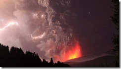 Puyehue volcano Chile