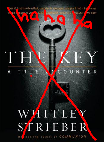 Cover- THE KEY- Whitley Strieber