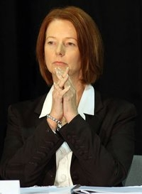 julia gillard praying
