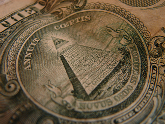 holy american dollar bill