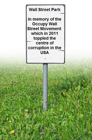 grass sign