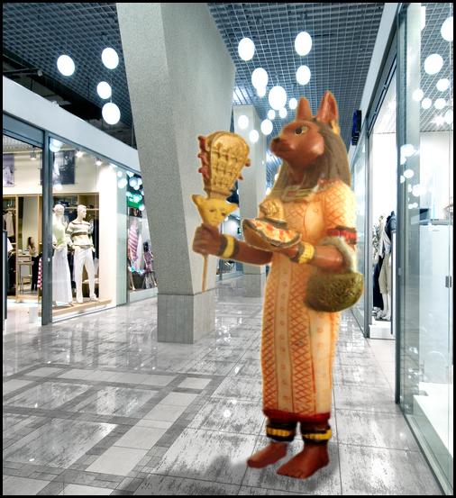 Mrs Bastet Goes Shopping22
